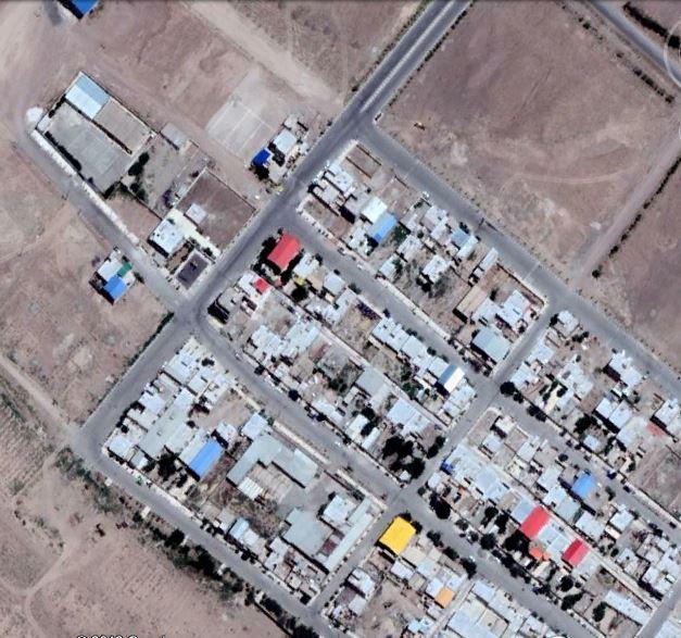 تصویر هوایی سازمان نقشه برداری ارتوفتو و ژئورفرنس
