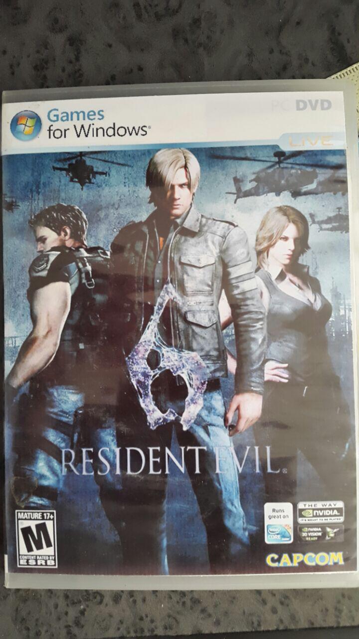 بازی محبوب resident evil 6
