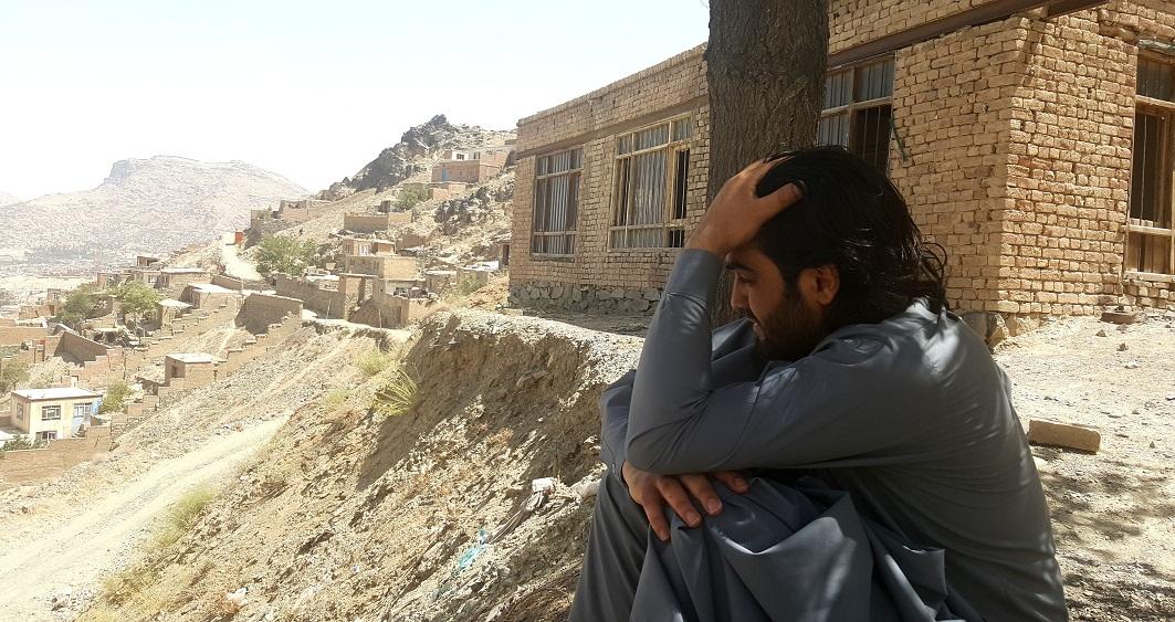 شهر زیبا کابل از بلندای کوه چهلستون  نمای دیدنی