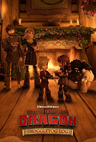 دانلود انیمیشن How to Train Your Dragon Snoggletog Log 2019