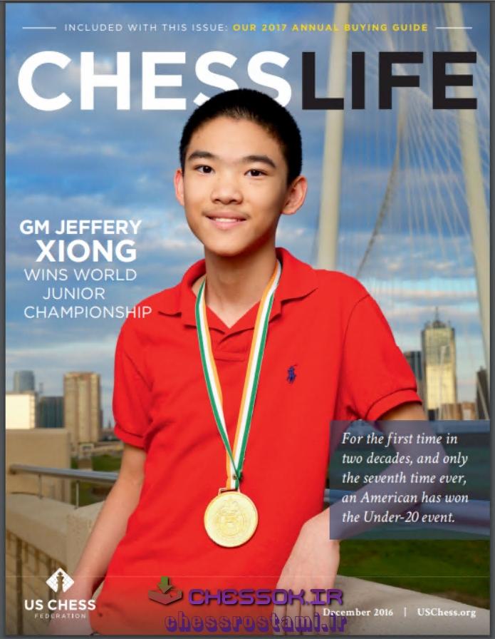 سری کامل مجللات معتبر شطرنج Chess Life 2016