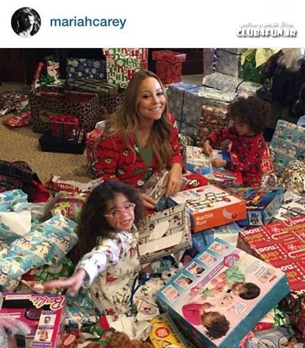 ماریا کری همچنان در جو کریسمس
