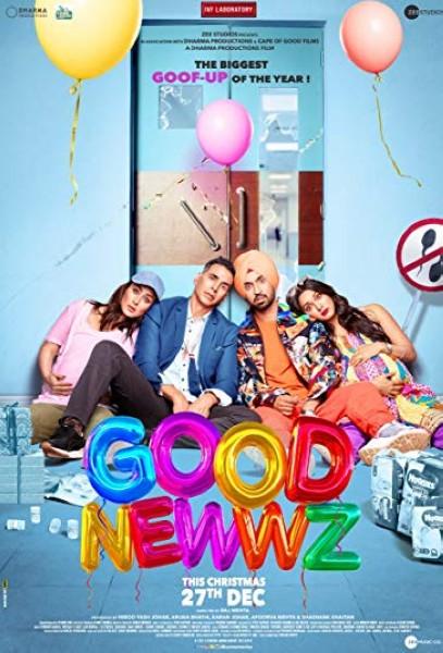 دانلود فیلم Good Newwz 2019