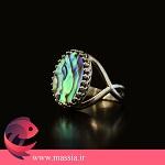 مزین استفاده از جواهرات صدفی massia