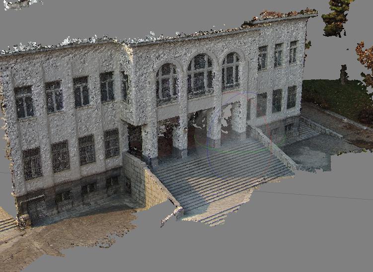 مدلسازی سه بعدی کاخ ملت در مجموعه سعد آباد